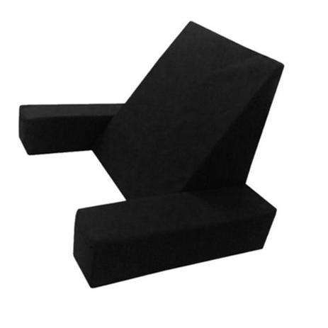 Encosto Almofada P/ Repouso E Leitura C/ Apoio De Braços - Travesseiro Ideal