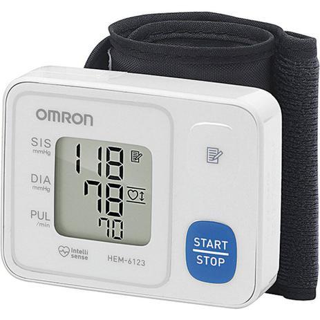 Monitor de pressão arterial de pulso automático omron