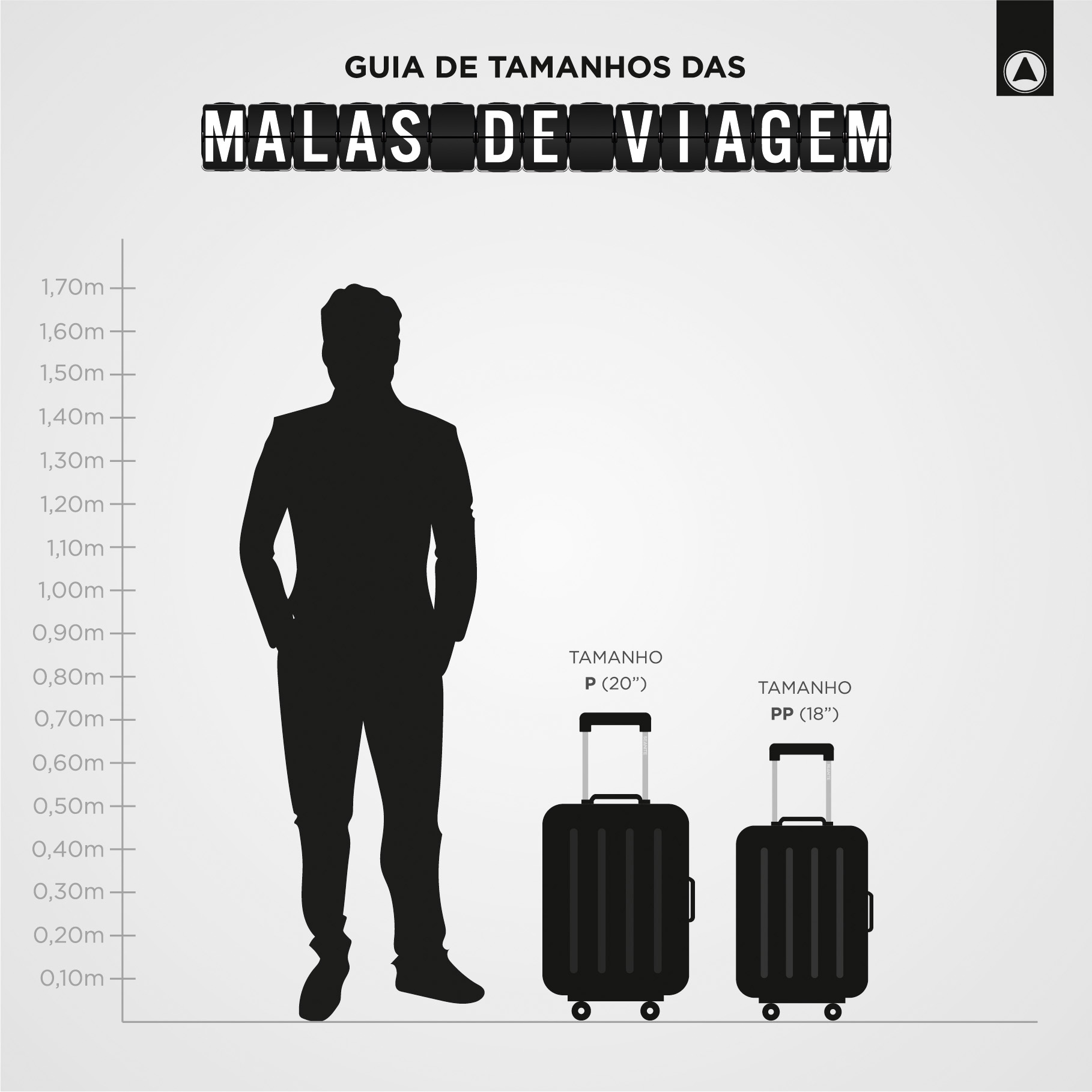 KIT DE MALAS DE BORDO P, PP E FRASQUEIRA PRATA - SEANITE