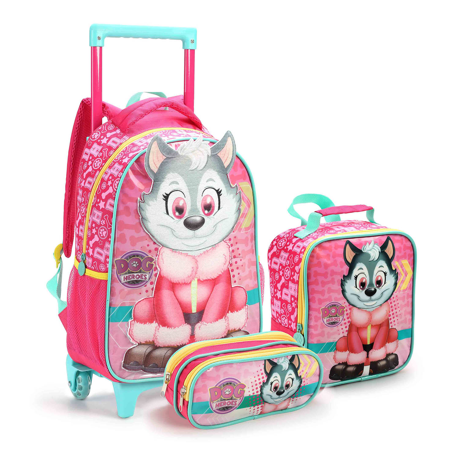 KIT ESCOLAR DOG HEROES FEMININO - SEANITE