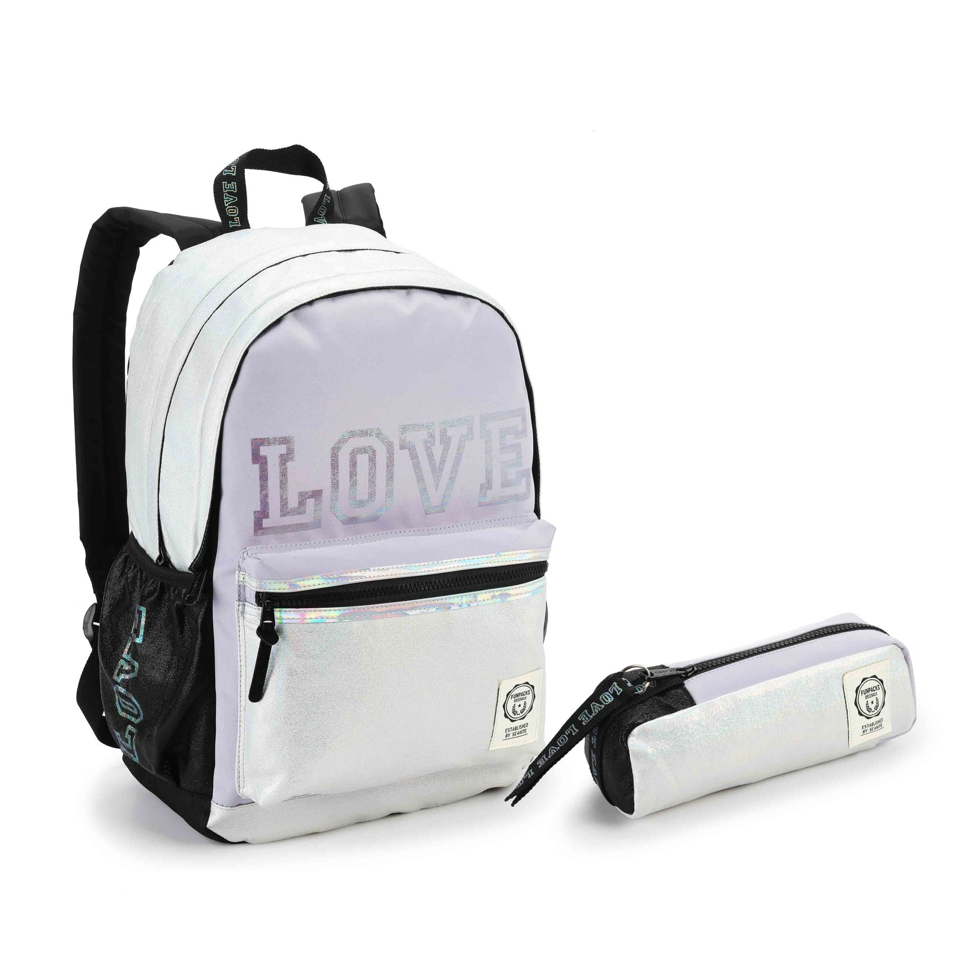 KIT ESCOLAR FEMININO LOVE LILAS - SEANITE