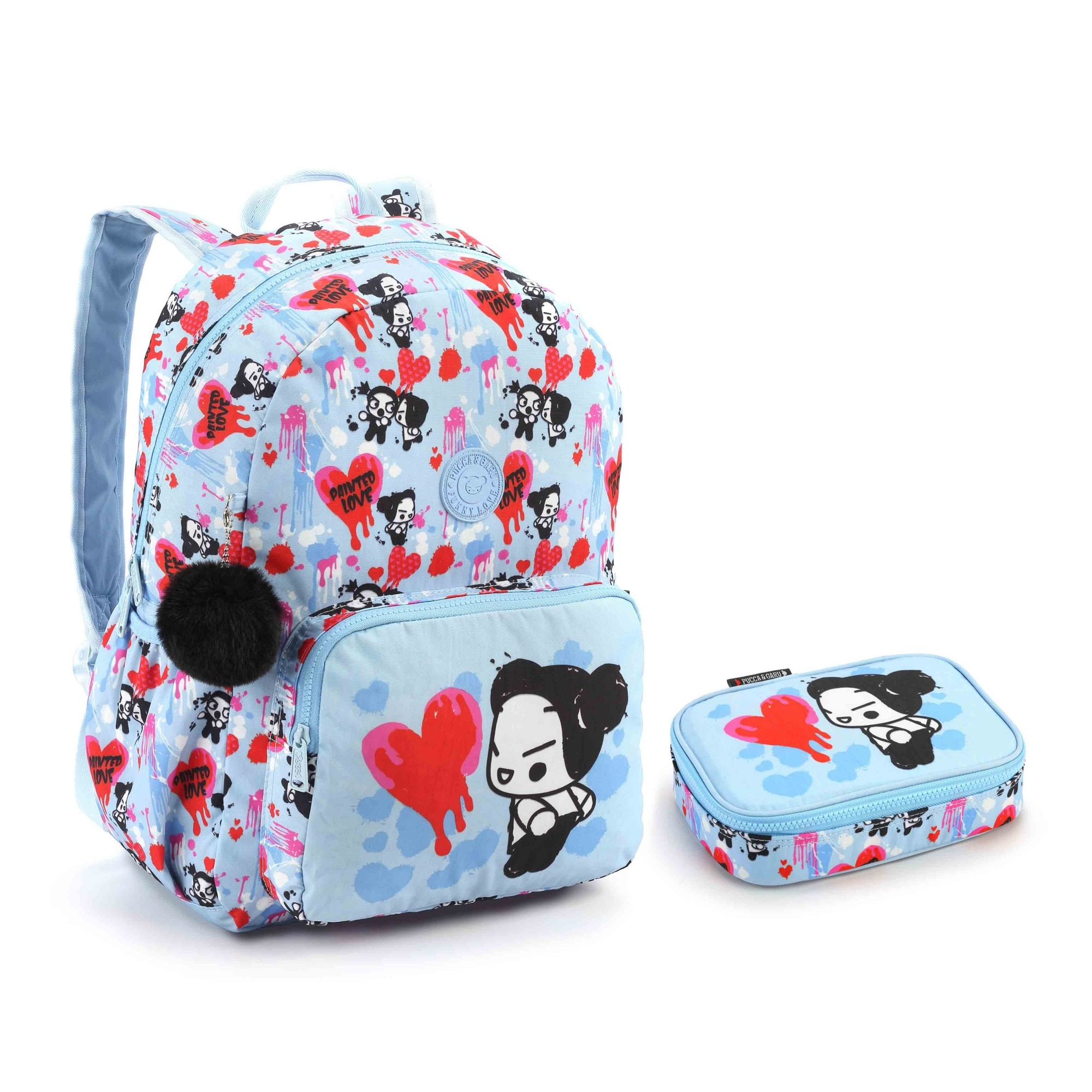 KIT ESCOLAR PUCCA AZUL - SEANITE