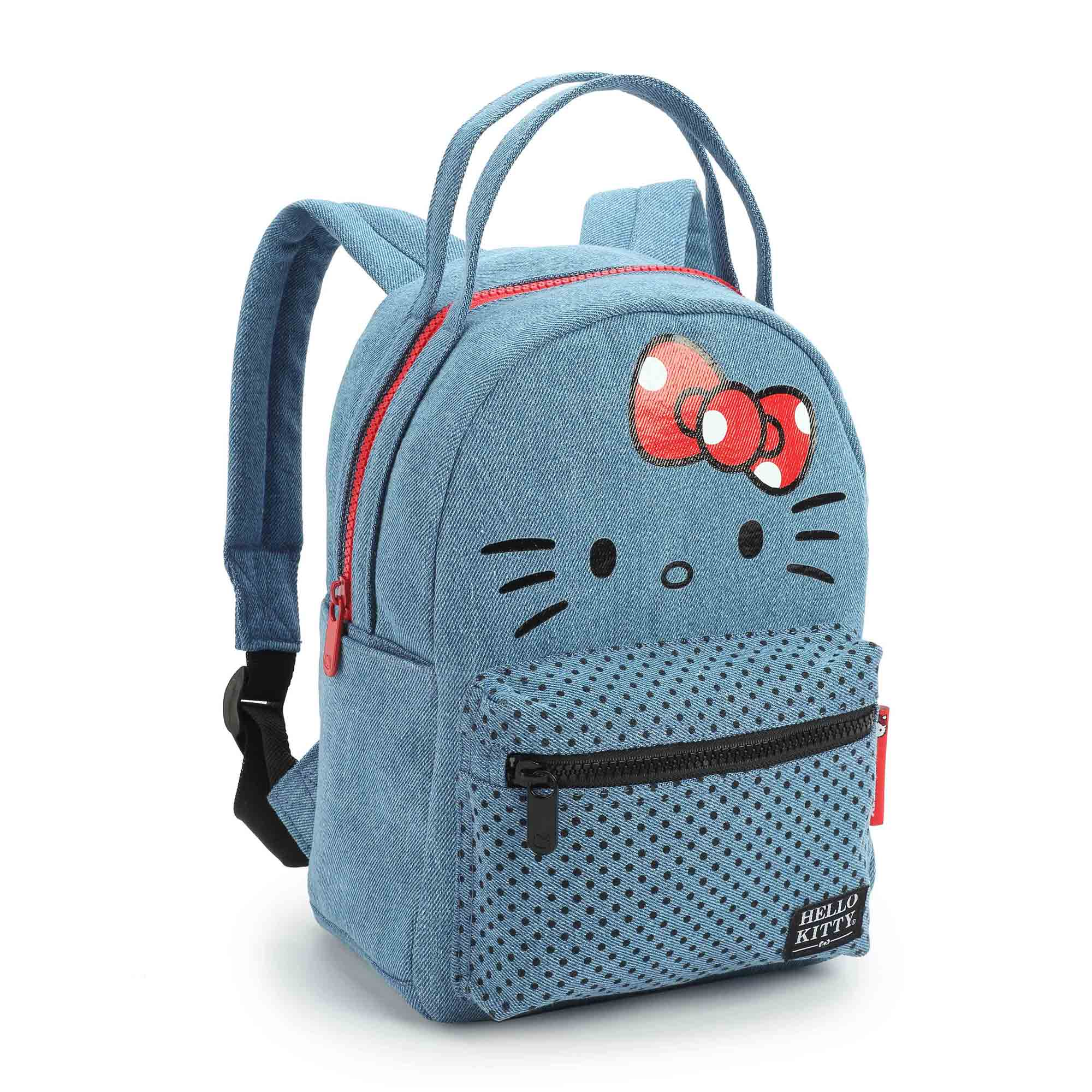 MINI MOCHILA JEANS HELLO KITTY 11