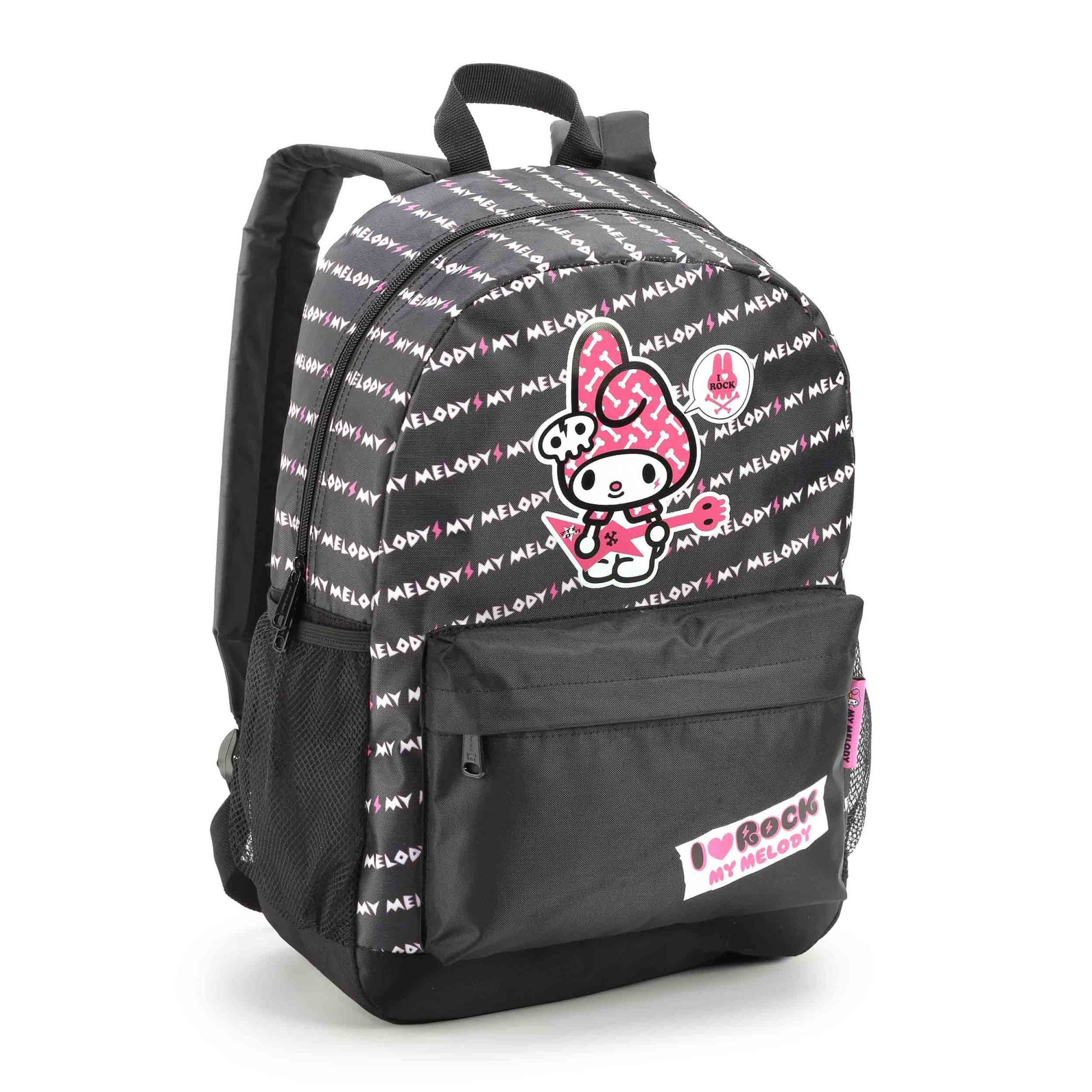 "MOCHILA MY MELODY 16"" ROCK SANRIO - SEANITE"