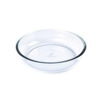 Assadeira De Vidro Redonda Refratária 2,4 Litros Linha Round Ref:1020 - Vitazza