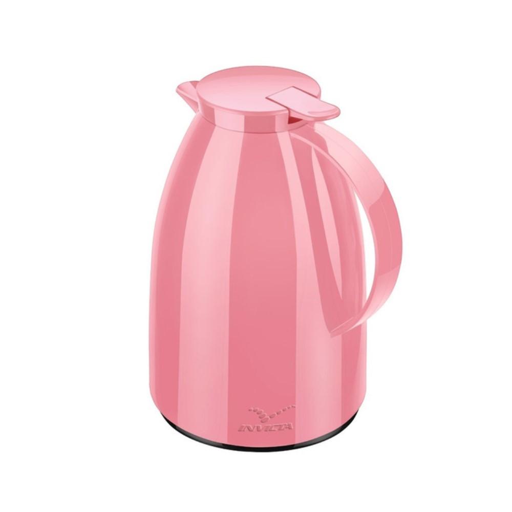 Bule Viena Gatilho 1 Litro Mix Rosa Quartz Purist Ref:100300042021 - Newell