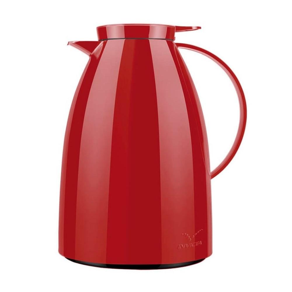 Bule Viena Gatilho 1 Litro Vermelho Velvet Ref:100300041808 - Newell
