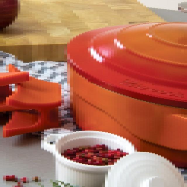 Caçarola Le Cook 28cm Com Pegadores De Silicone Ref:lc1804 - Le Cook