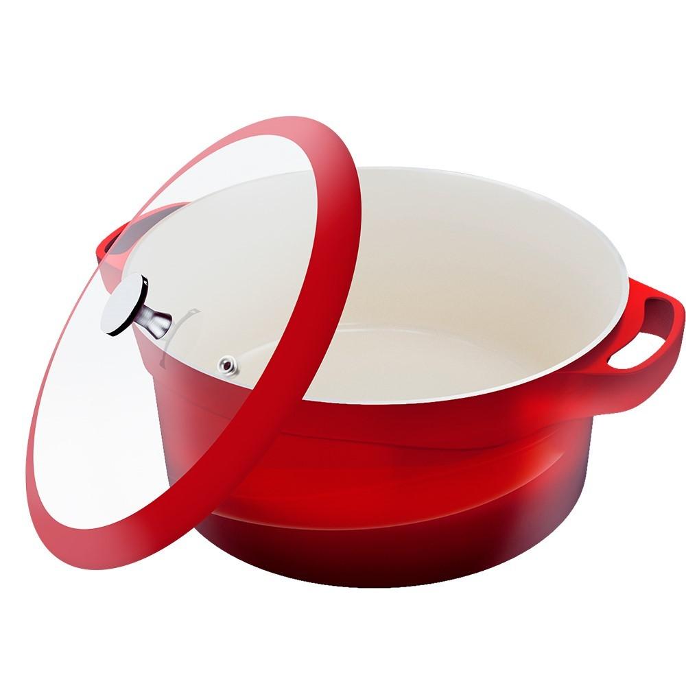 Caçarola Le Cook Redonda 20cm 2,6 Litros Ref:lc1842 - Le Cook