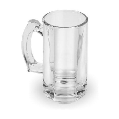 Caneca Beer 360ml Em Vidro Ref:gx9054 - Marcamix