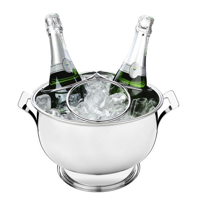 Champagneira Para 3 Garrafas Sem Separador Ref:5904 - Zanella