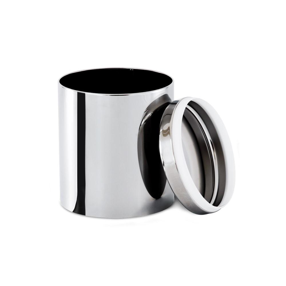 Conjunto De Potes Para Mantimentos Com Tampa 5 Peças Ref:2100/101 - Brinox