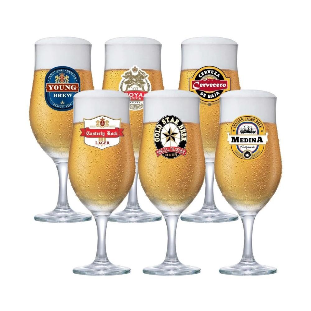 Conjunto Happy Hour Taça Berlin Com 6 Peças Ref:6680595 - Ruvolo