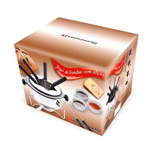Conjunto Para Fondue Inox 10 Peças Ref:5851 - Zanella