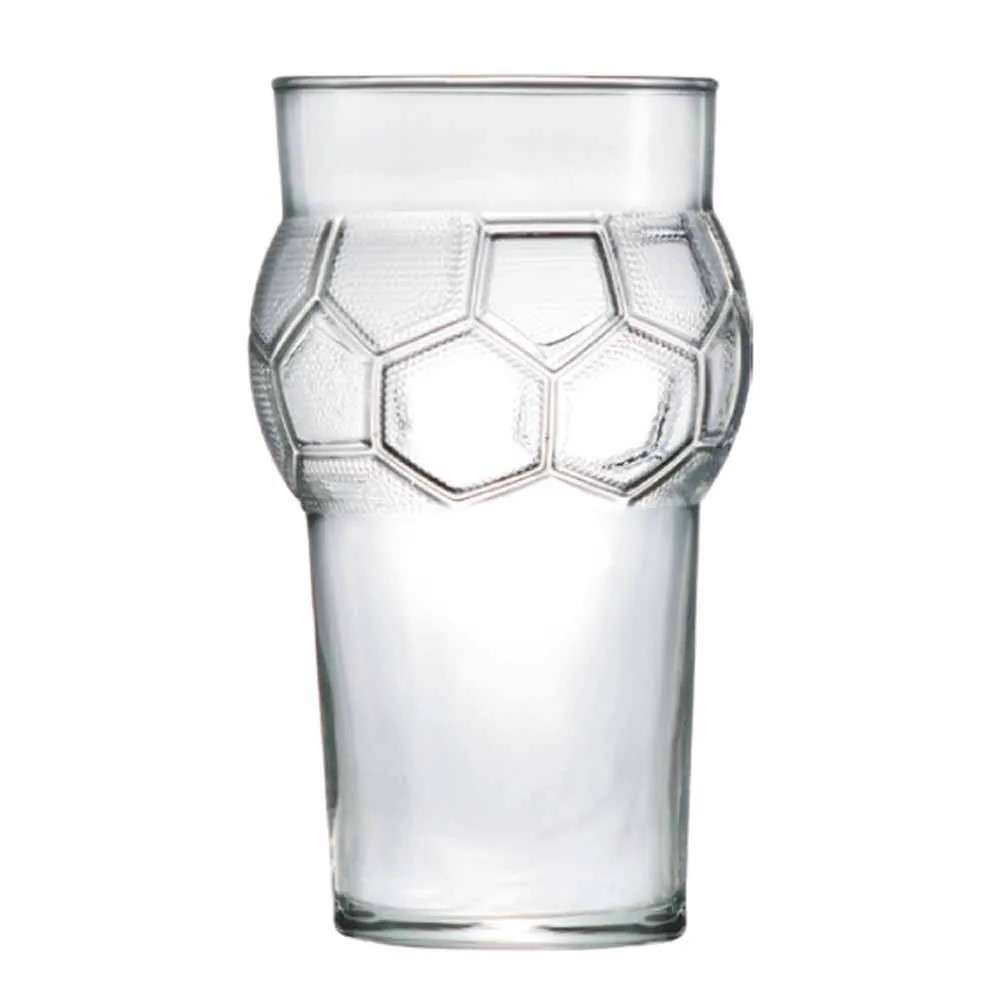 Copo Futebol Em Vidro 580ml Ref:80300 - Ruvolo