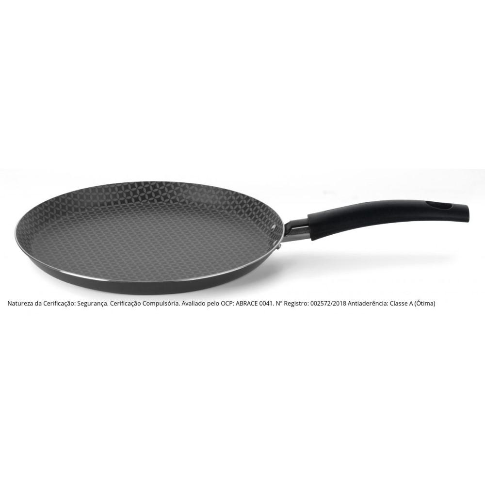 Crepeira Panquequeira Antiaderente N.22 Linha Gourmet Ref:55224 - Multiflon