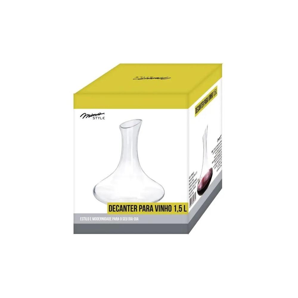 Decanter Para Vinho 1,5 Litros Ref:vd1857 - Mimo
