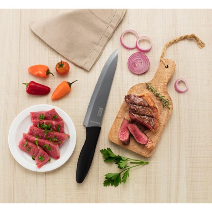 Faca De Cozinha Titanium Silver Chef 8pol Ref:006-s - Yuze