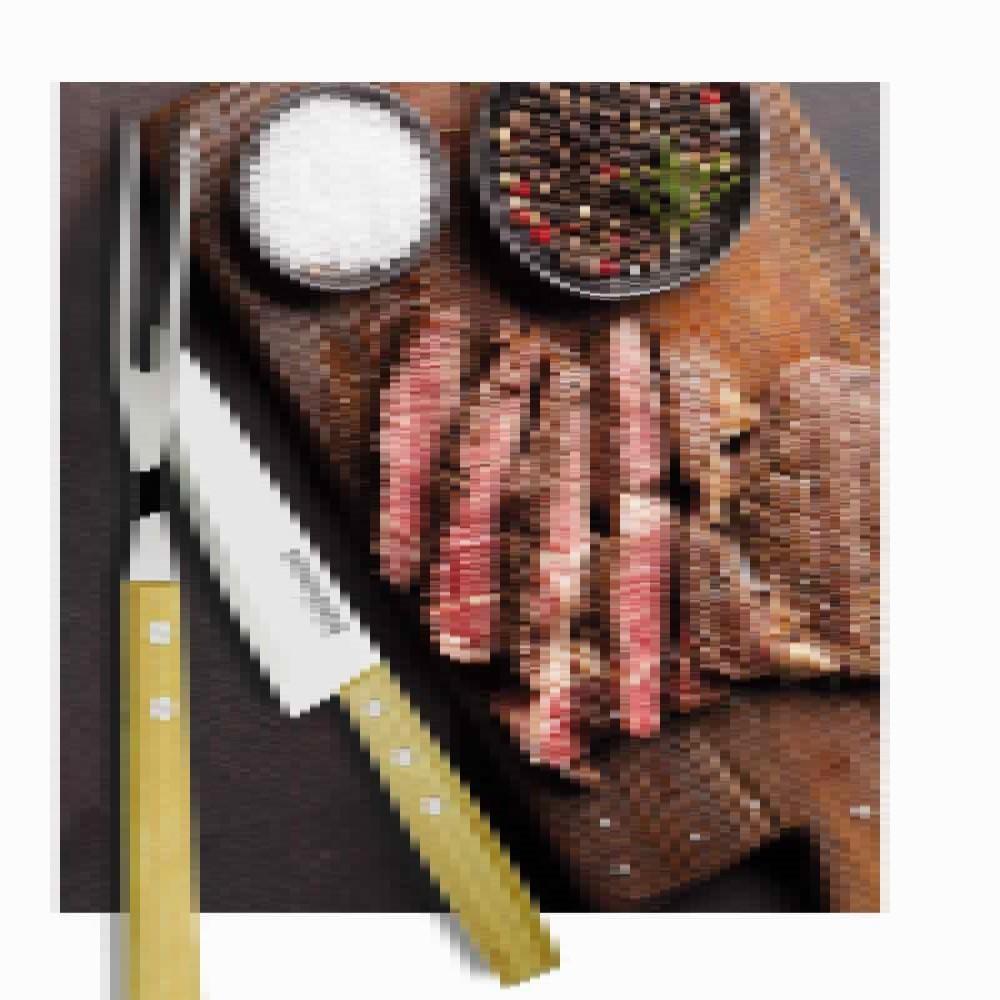 Faca Para Carne Linha Churrasco Paixao Nacional 6pol Ref:gx9505 - Marcamix