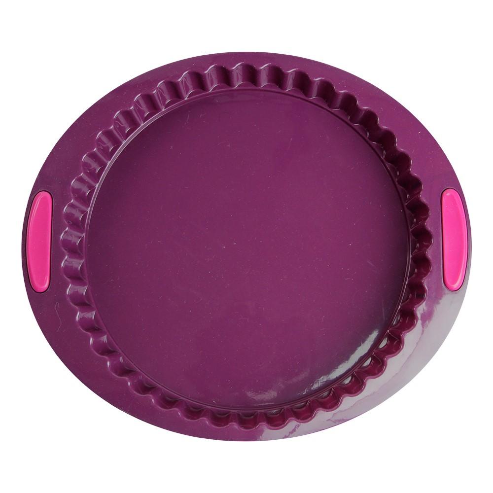 Forma De Silicone Para Bolo E Torta 30cm Silicone Line Ref:mc14115 - Marcamix