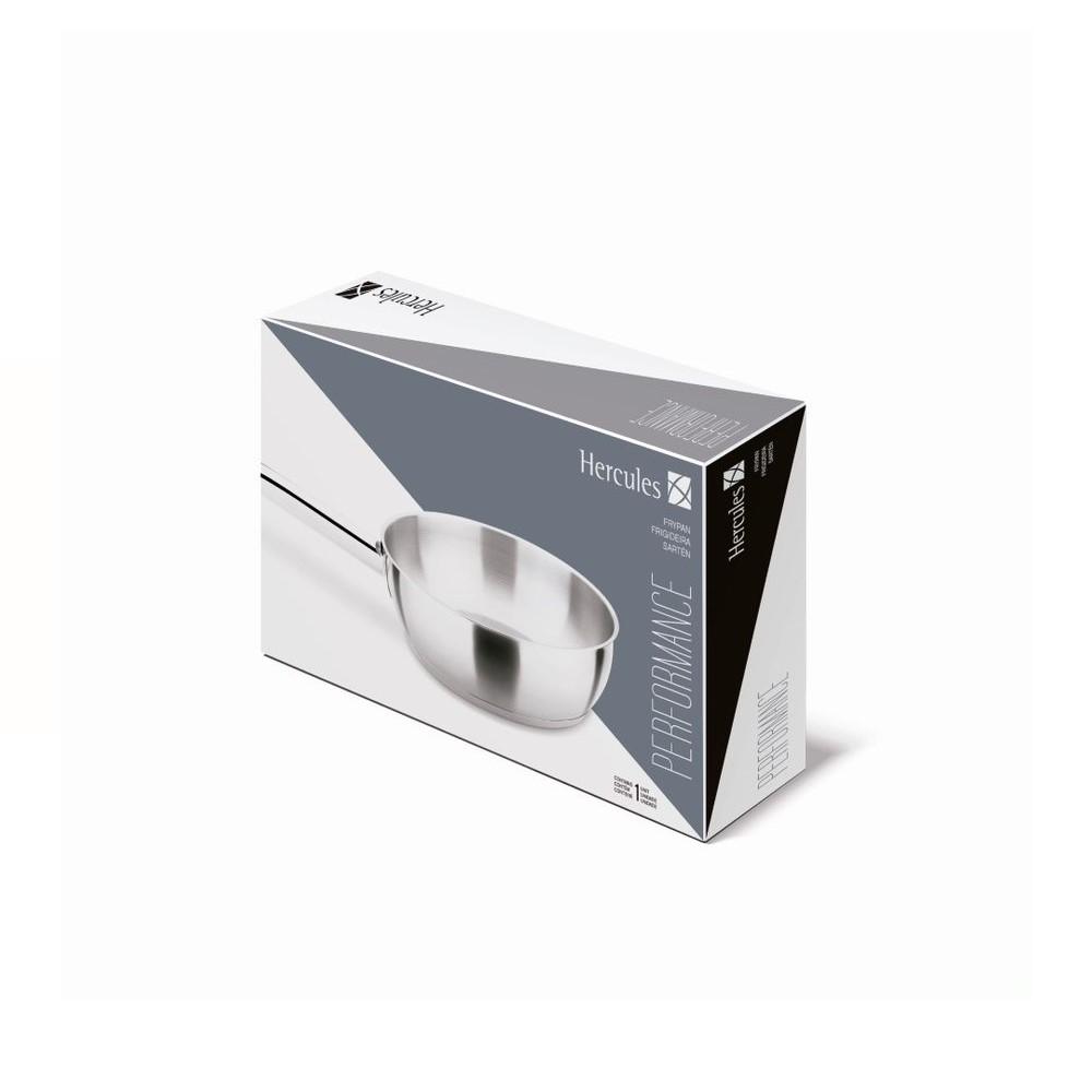 Frigideira Inox Fundo Triplo Performance 20x5cm Ref:pa50-030 - Hercules