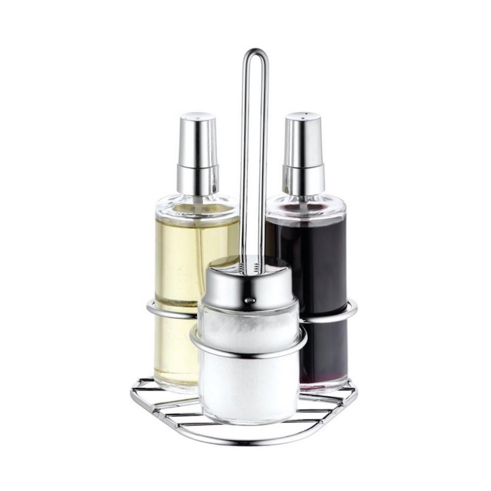 Galheteiro Spray Oleo E Vinagre E Sal Ref:802225 - Forma Inox