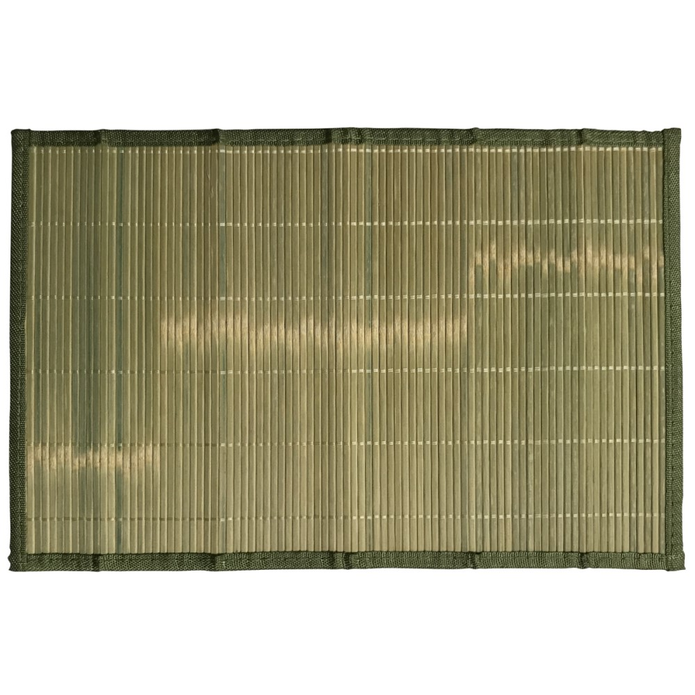 Jogo Americano Bambu Cru 45x30cm Ref:ck1980 - Clink