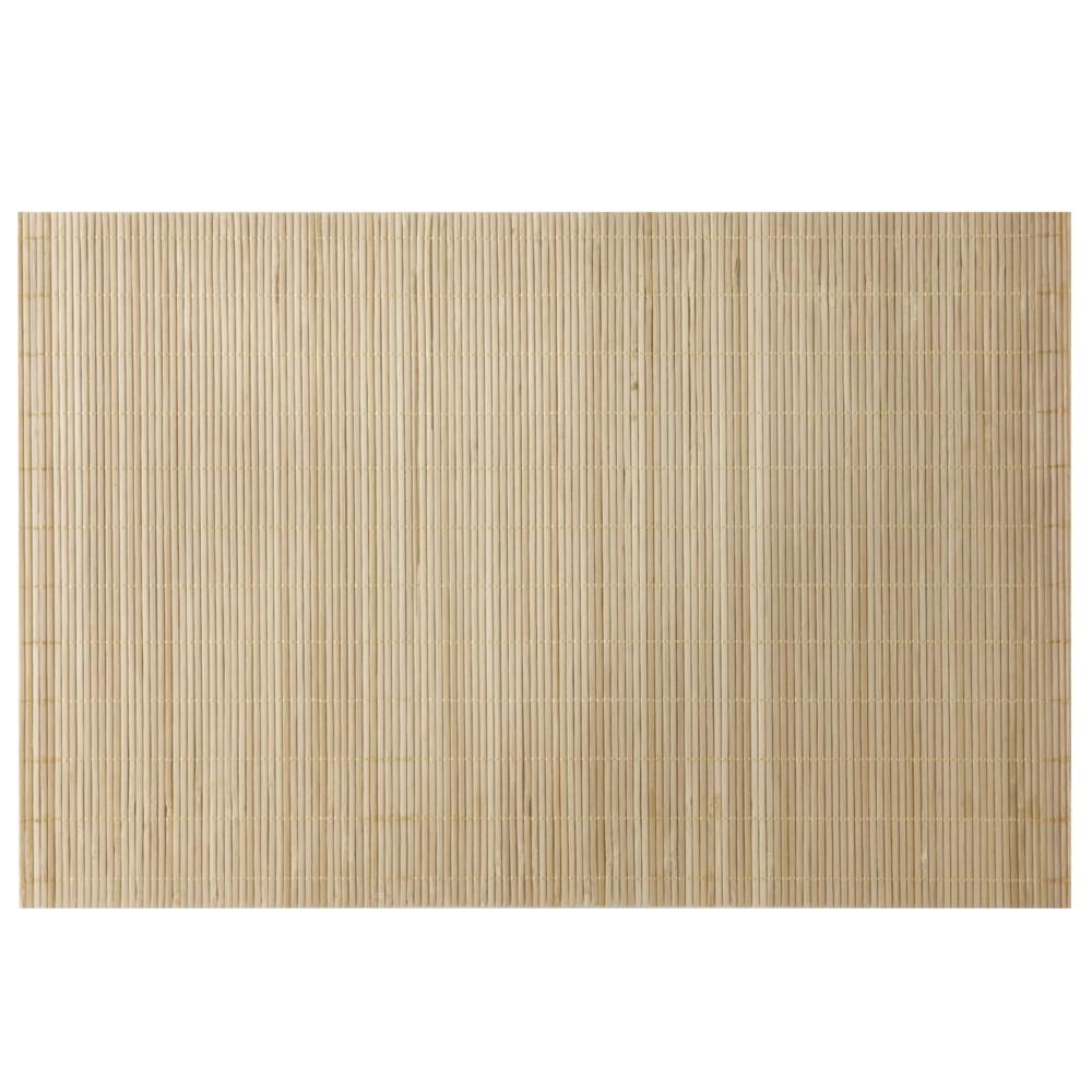 Jogo Americano Em Bambu Cru Com 4 Unidades 30x45 Ref:ja10208 - Mimo