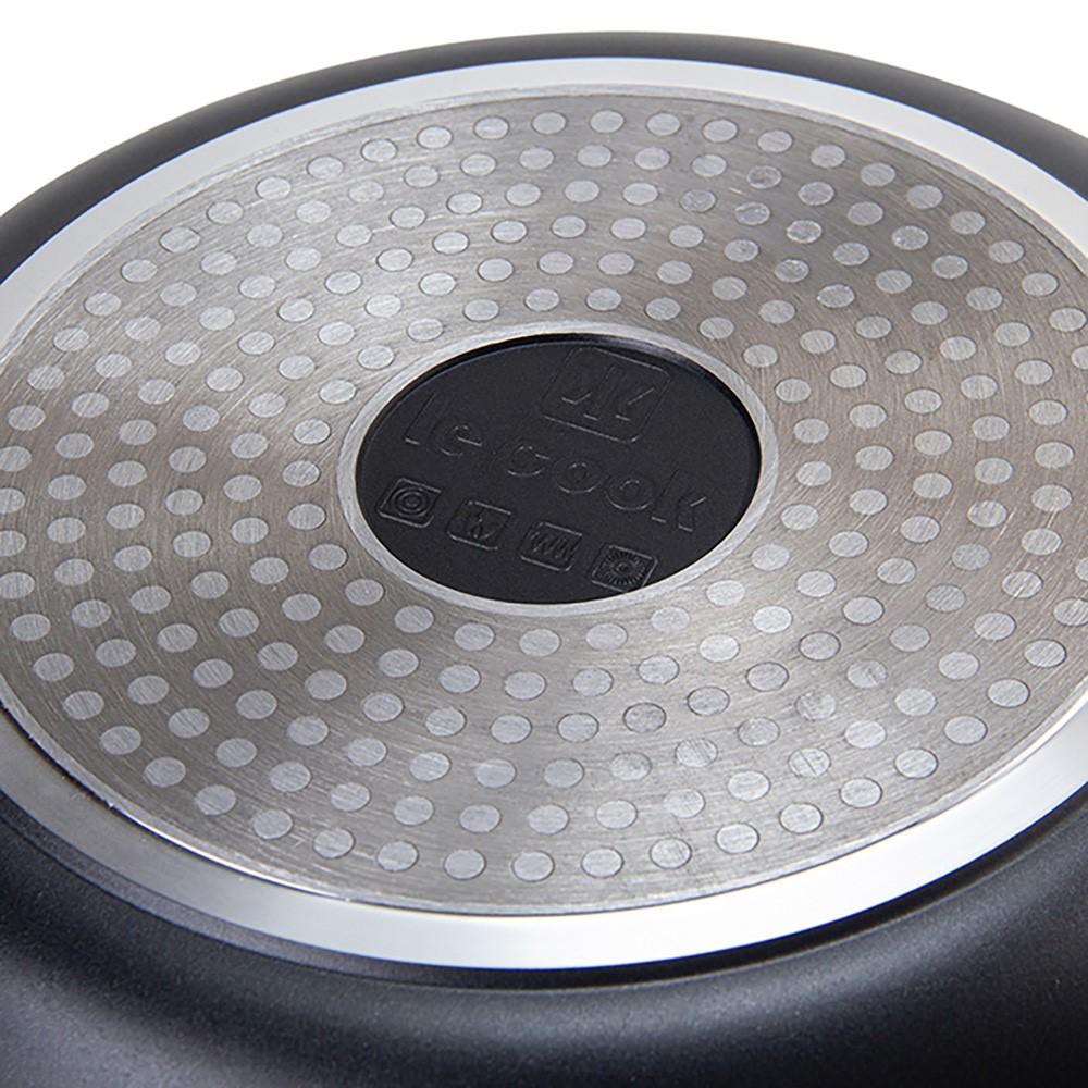 Jogo De Panelas Cerâmica Linha Premier Black Ref:lc1849 - Le Cook