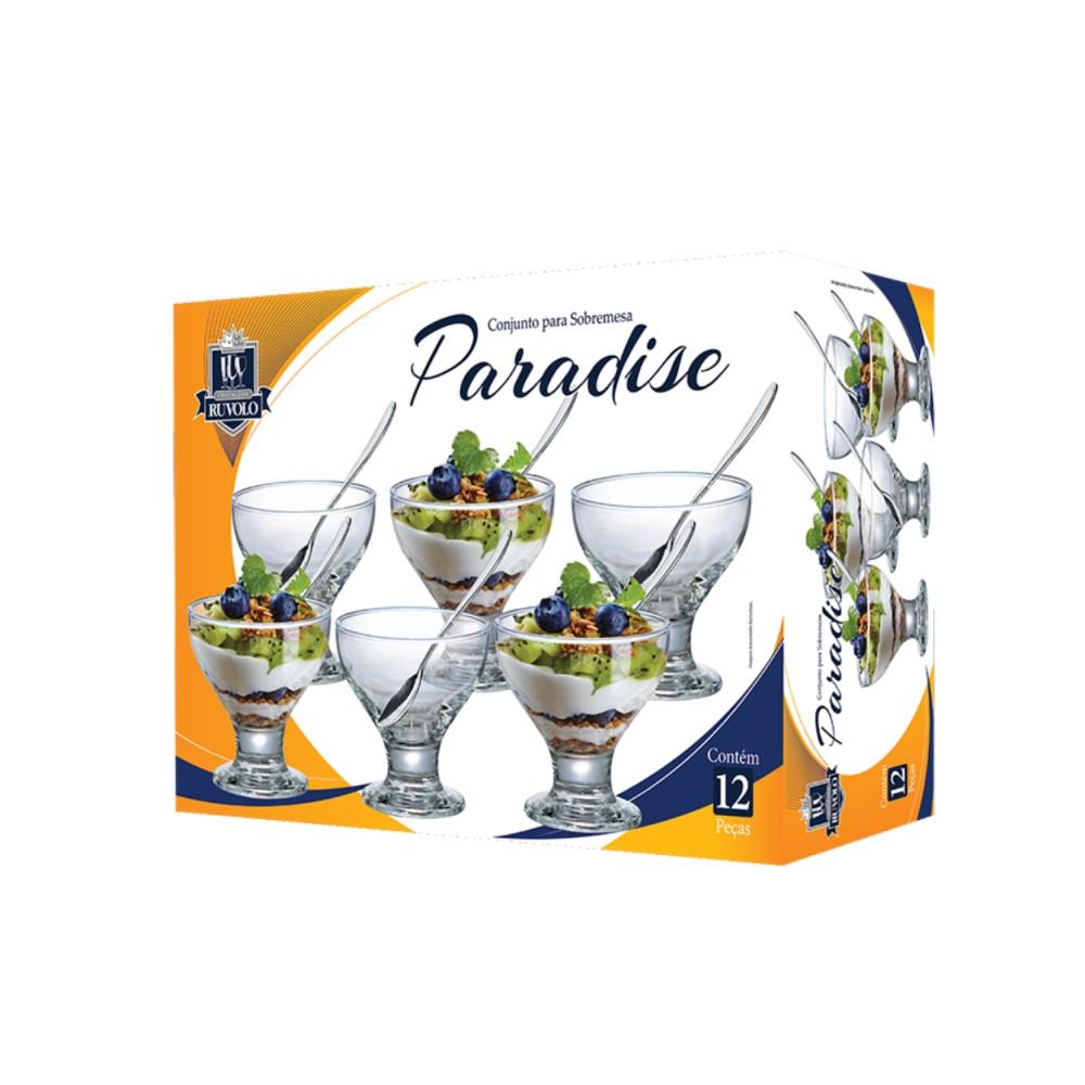 Jogo De Sobremesa New Paradise Com 12 Peças Ref:1280706 - Ruvolo