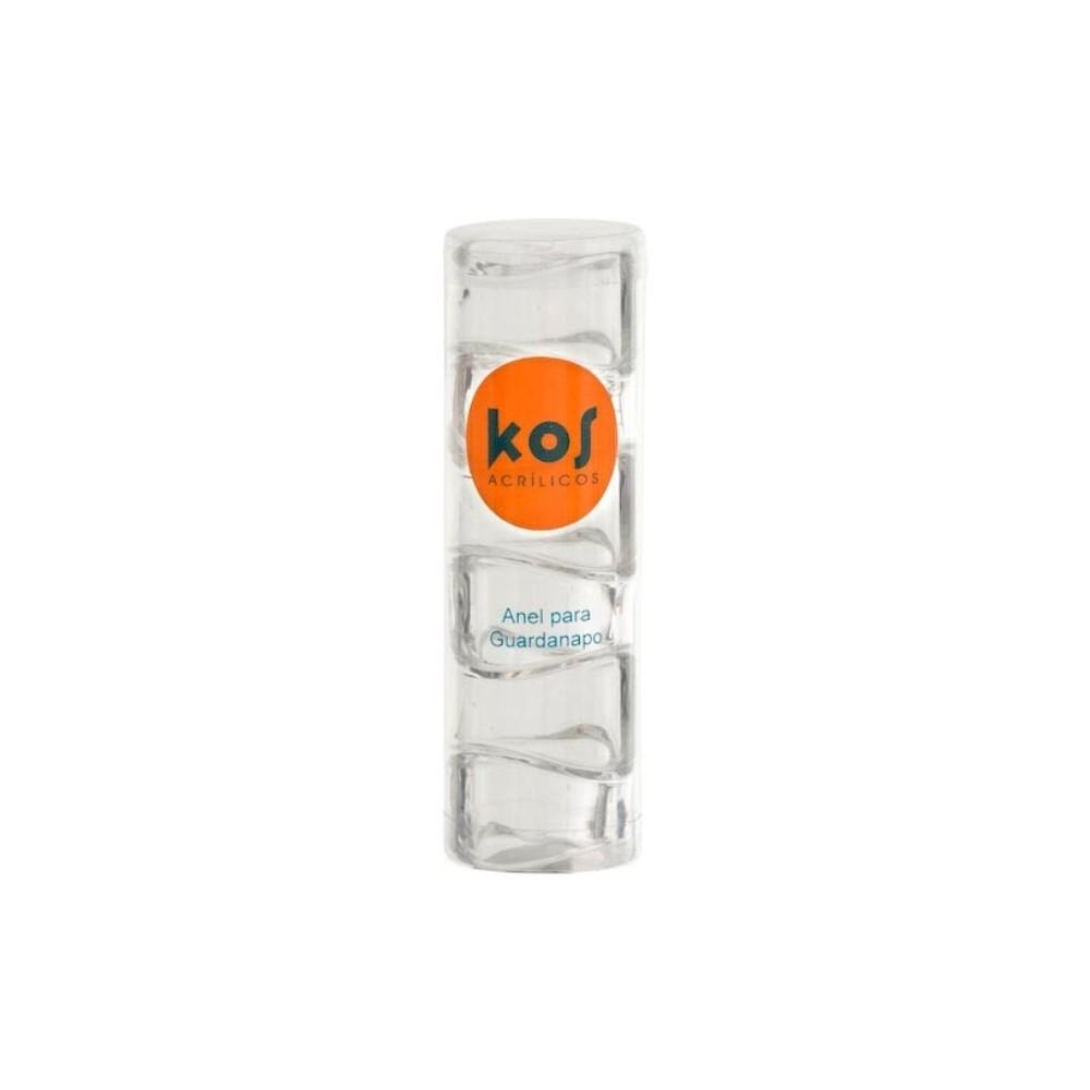 Kit C/6 Anel P/guardanapo Preto Ref:6.0050.05 - Kos