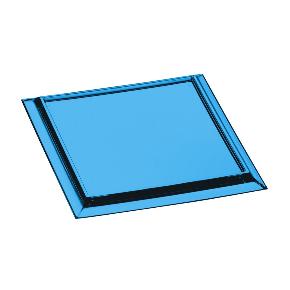 Kit Porta Copos Com 6 Peças Quadrado Azul Ref:6.0031.01 - Kos