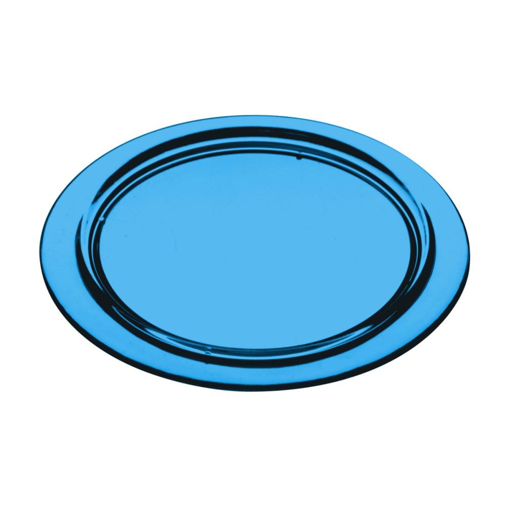 Kit Porta Copos Com 6 Peças Redondo Azul Ref:6.0030.01 - Kos