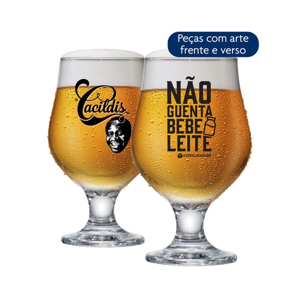 Luva De Taças De Vidro Beer Master Cacildis Com 2 Peças 380ml Ref:24004301 - Ruvolo