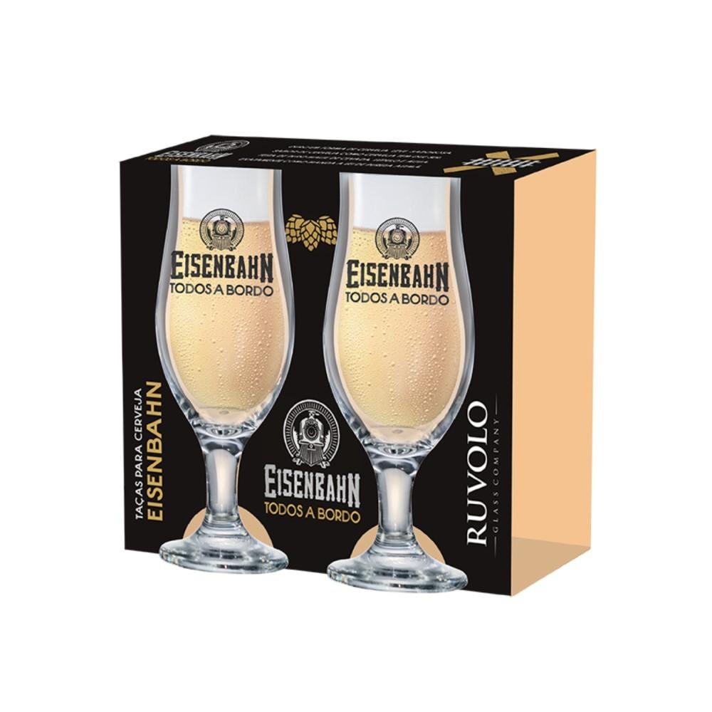 Luva De Taças De Vidro Eisenbahn Royal Beer Com 2 Peças 330ml Ref:27007401 - Ruvolo