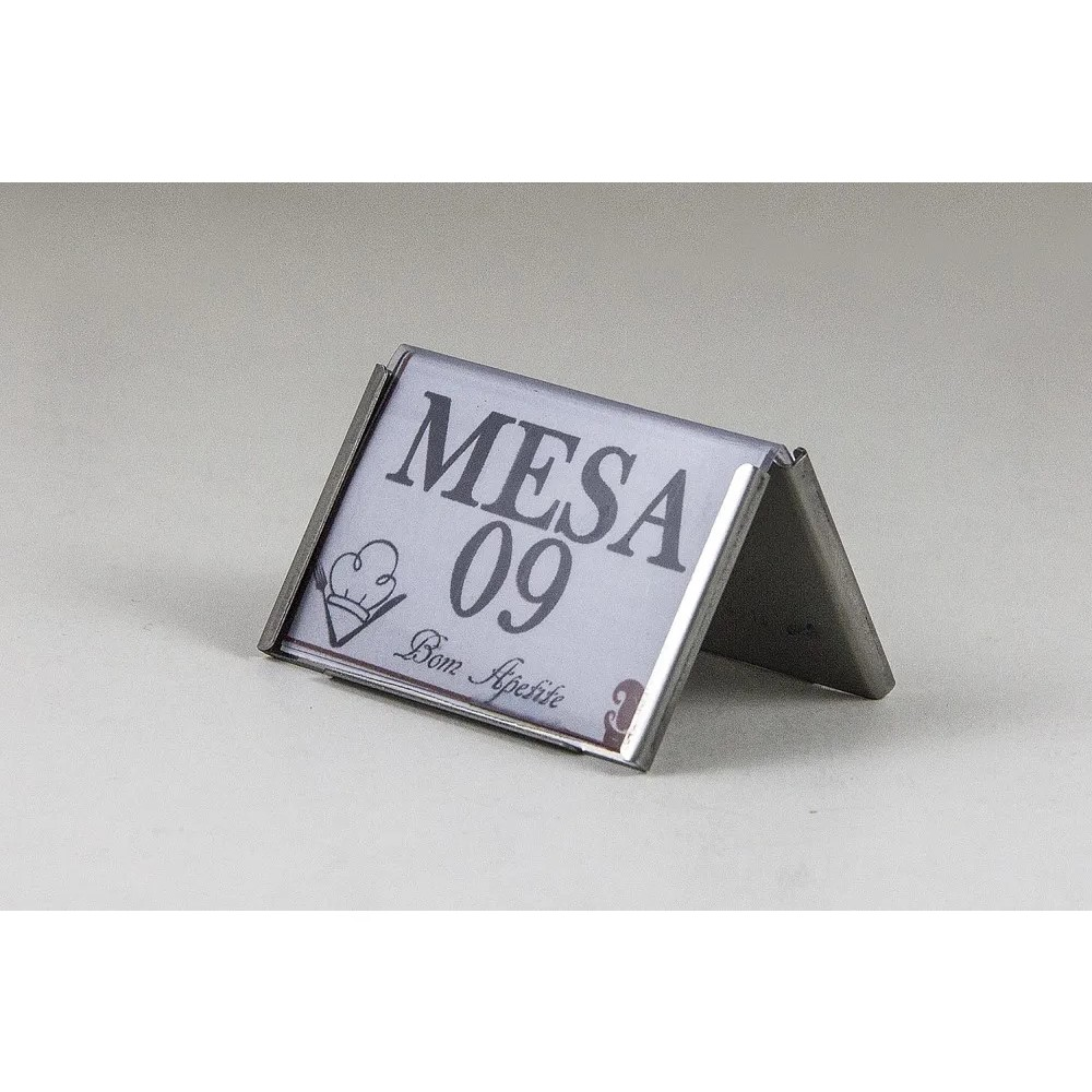 Mini Display De Mesa Inox Ref:310 - Allissan