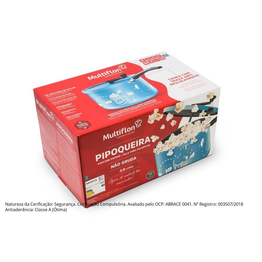 Pipoqueira Antiaderente N.20 Azul Ref:78520 - Multiflon