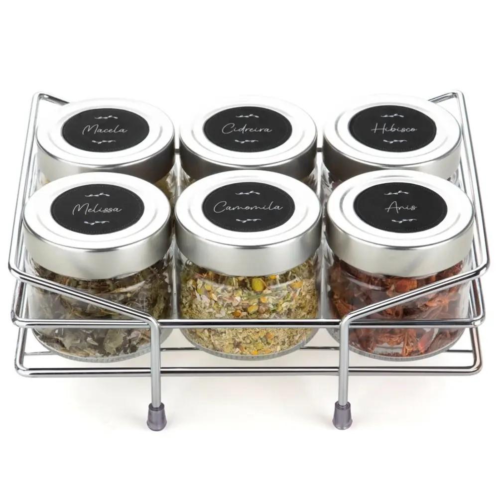 Porta Chá E Condimento Ref:800225 - Forma Inox