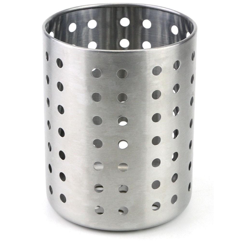 Porta Talheres Inox 9,5x12cm Ref:ck4570 - Clink