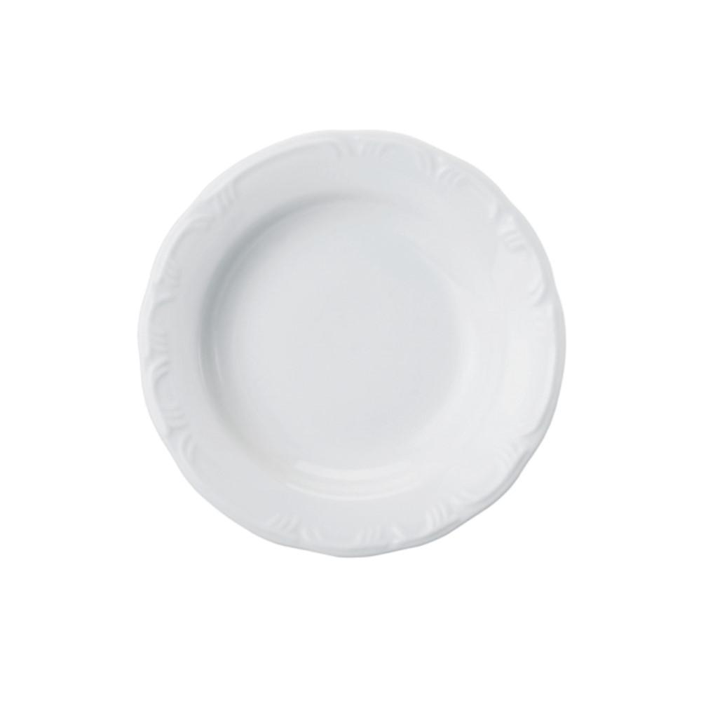 Prato Fundo Em Porcelana 23cm Pomerode Branca Ref:114.004.023 - Schmidt