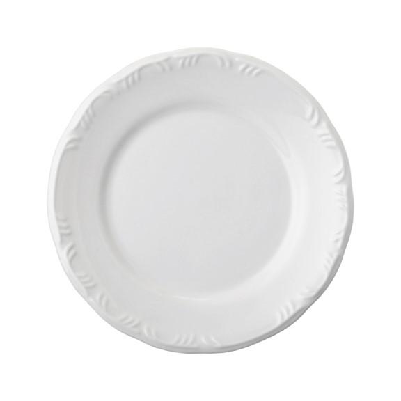 Prato Raso Em Porcelana Branca 26cm Pomerode - Schmidt