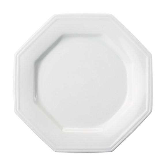 Prato Raso Em Porcelana Branca 28cm Prisma - Schmidt