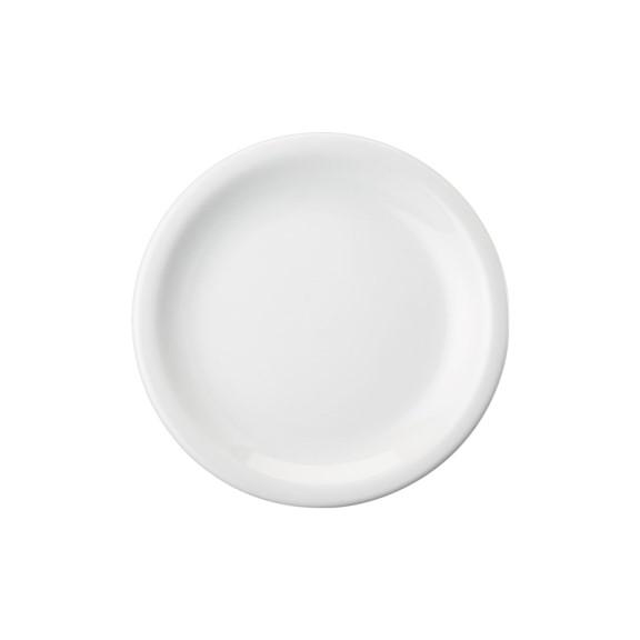 Prato Sobremesa Em Porcelana 19cm Linha Protel - Schmidt