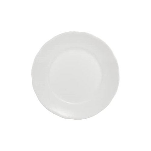Prato Sobremesa Em Porcelana Branca 19cm Linha Izabel - Schmidt