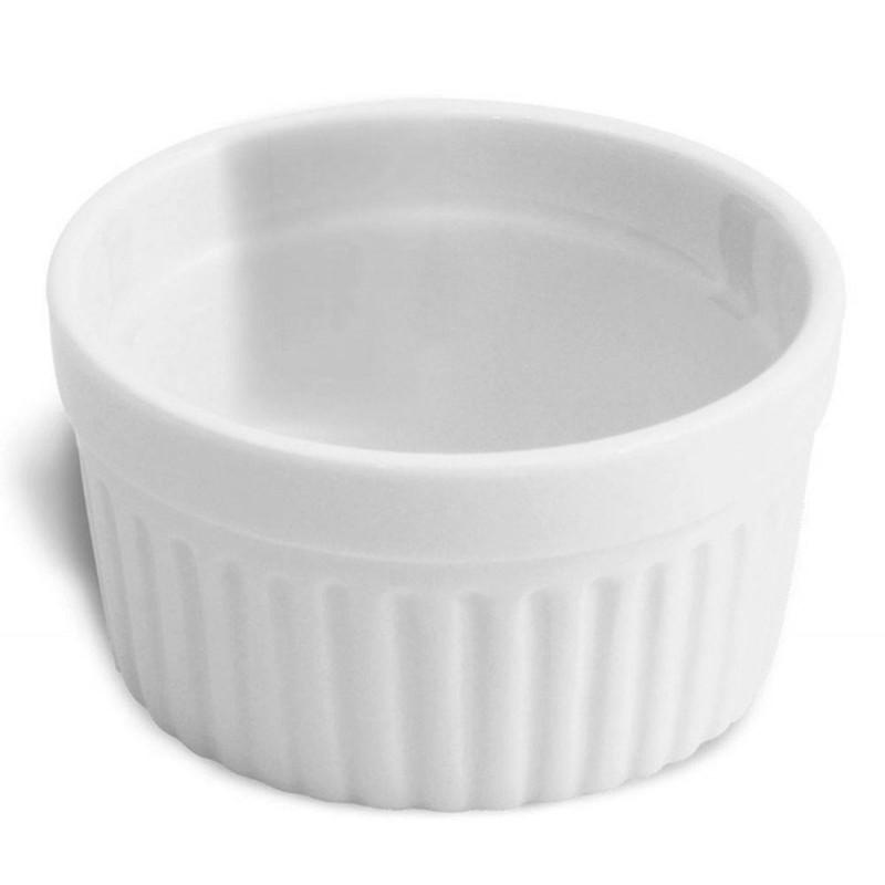 Ramequim Medio 8cm Em Porcelana Ref:087 - Alfa