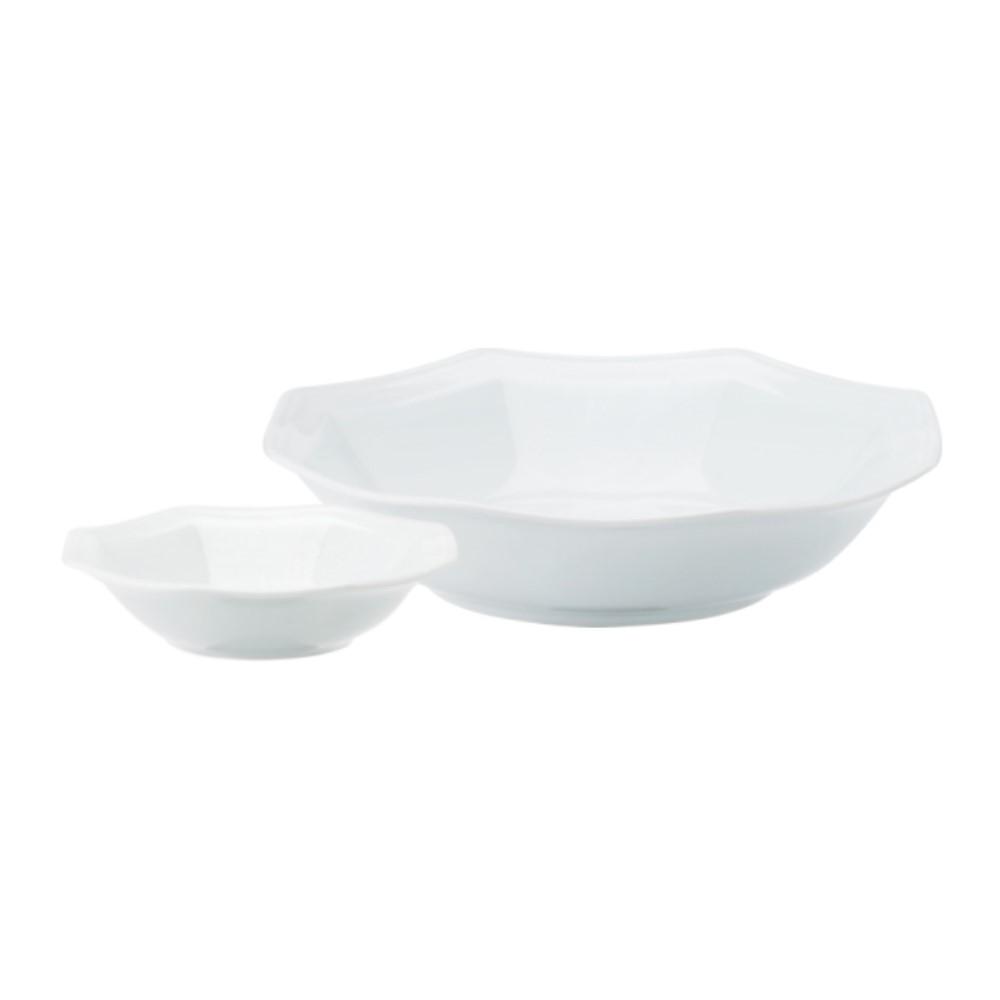 Saladeira Em Porcelana 24cm Prisma Ref:077.004.024 - Schmidt