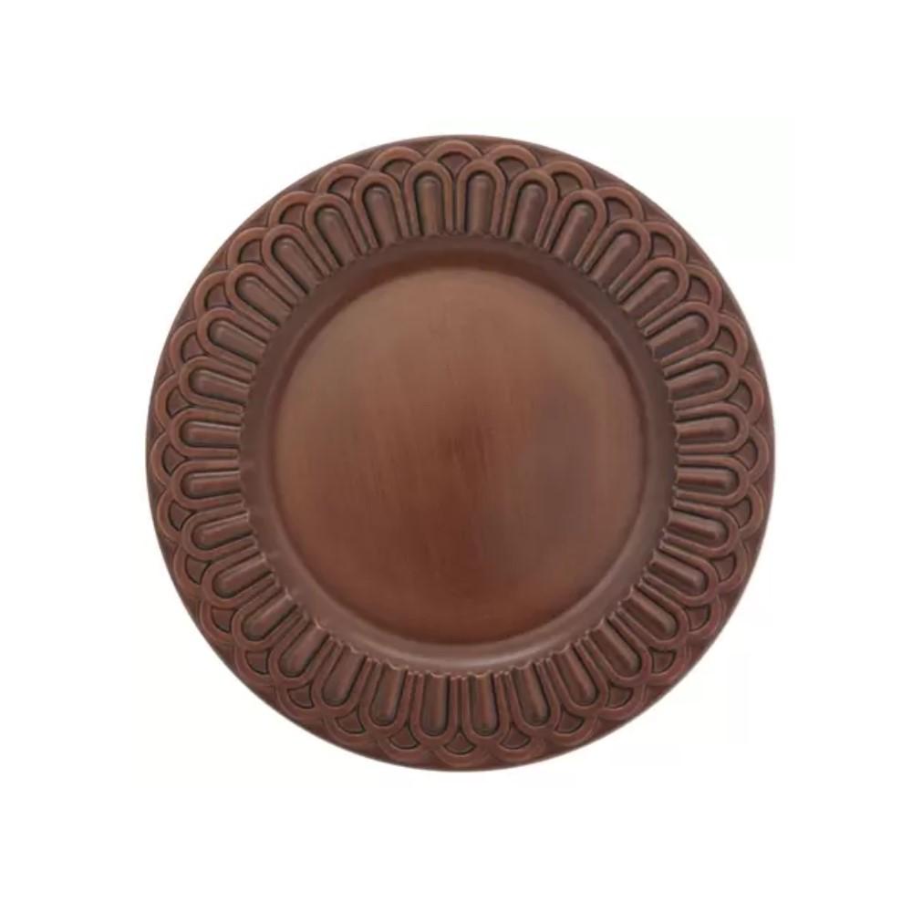 Sousplat Arcos Bronze Ref:sp20205 - Mimo