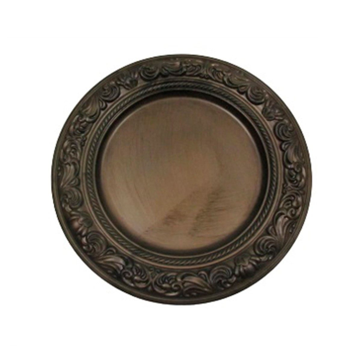 Sousplat Barroco Bronze Ref:sp20017 - Mimo