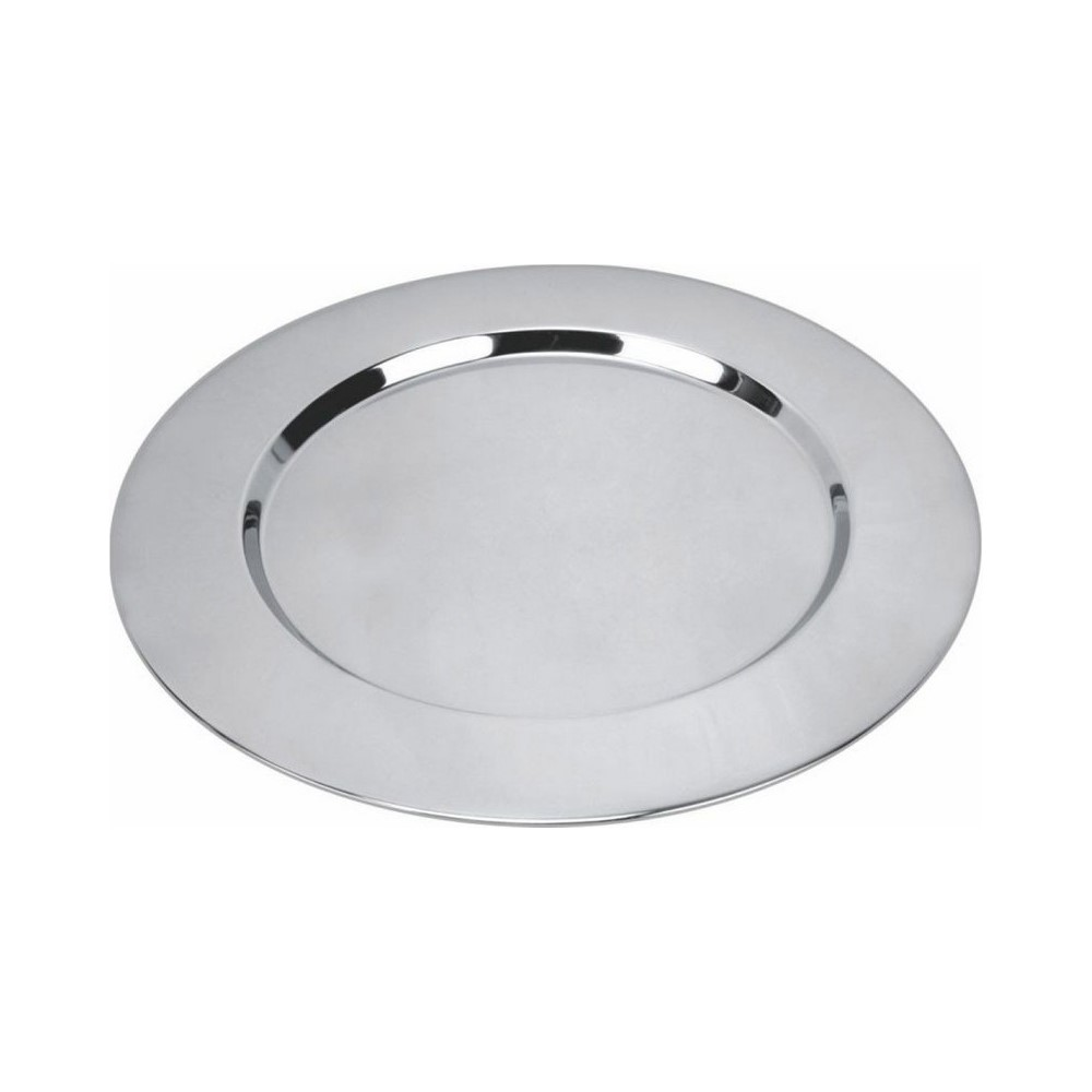 Sousplat Inox 33cm Ref:ck1367 - Clink
