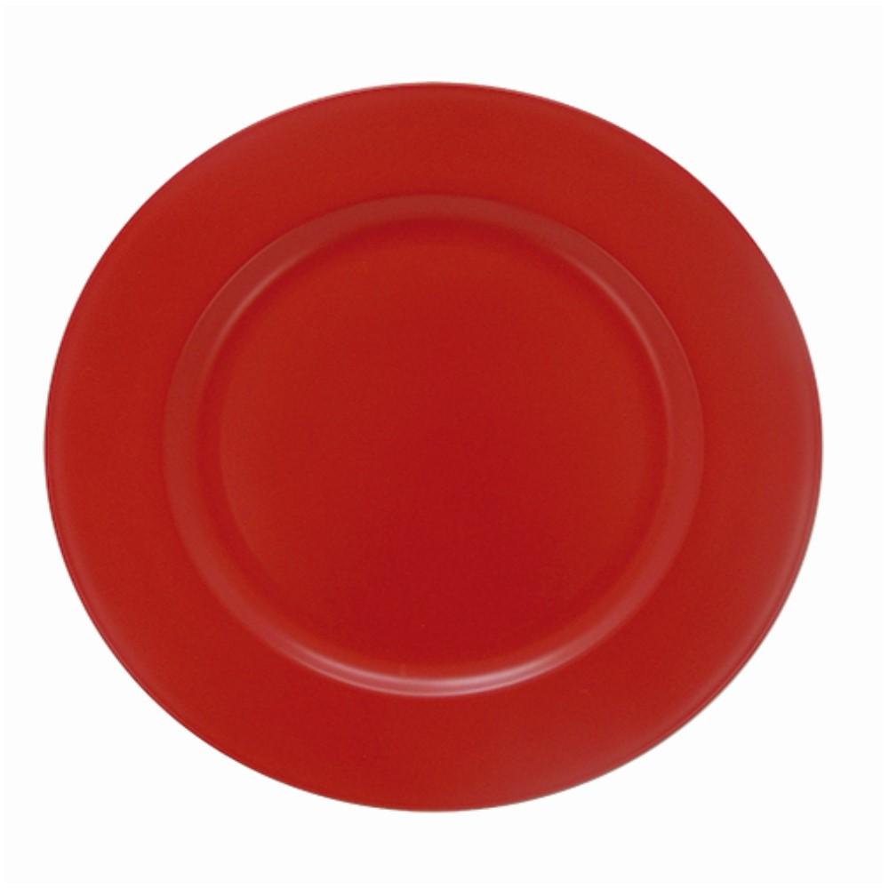 Sousplat Para Chá Vermelho Ref:sp20255h - Mimo